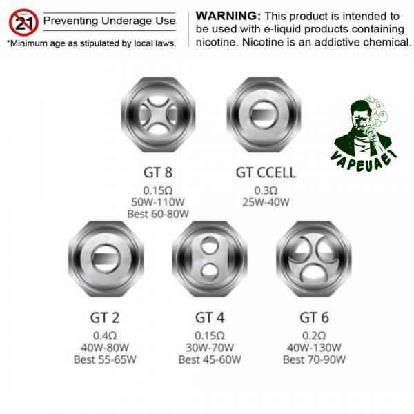 Vaporesso NRG GT Replacement Coils